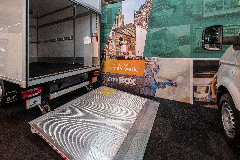 The Citybox bunk carrosserie & wagenbouw Transport compleet 2019